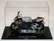 ATLAS - APRILIA RSV 1000R  MOTORCYCLE   - 1:24 -BOXED WITH DISPLAY STAND/CASE