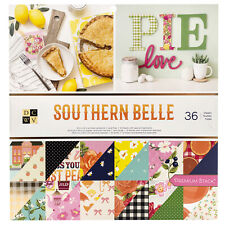 AC DCWV Printed Cardstock Premium Stack - Southern Belle, Gold Foil - 36 Sheets