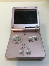 Game Boy Advance Sp Handheld Game pink NO RESERVE