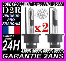 PAIRE AMPOULE LAMPE FEU PHARE XENON D2R HID FEUX LUMIERE BLANCHE CULOT 12V 35W