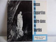 Messe de l apparition de ND de Lourdes Chants du propre en Francais AG 60 14