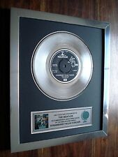 "THE BEATLES STRAWBERRY FIELDS FOREVER PLATINUM DISC 7"" SINGLE RECORD AWARD"