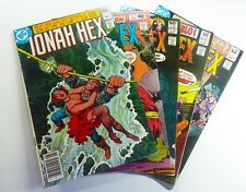 DC JONAH HEX (1980) #36 39 54 57 64 Lot WESTERN VG (4.0) to FN (6.0) Ships FREE