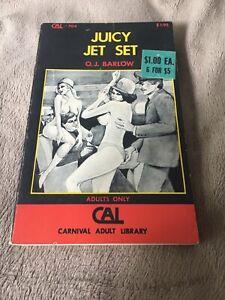 Vintage Adult Paperback Sleaze Novel Book Juicy Jet Set