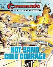 Commando For Action & Adventure Comic Book Magazine #1770 HOT SAND COLD COURAGE