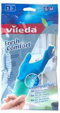 Vileda Fresh Comfort Cleaning Gloves Size Small/Medium absorbent foam lining