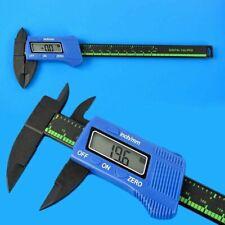 LCD Digital Electronic Vernier Caliper Gauge Micrometer Carbon Fiber 150MM 6inch