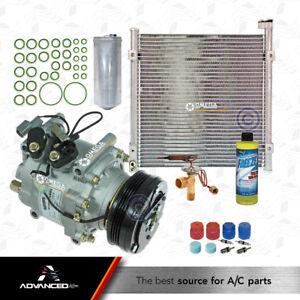 New AC A/C  Compressor Kit  Fits: 1996 1997 1998 1999 2000 Honda Civic L4 1.6L