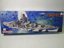 Dragon German Battleship Tirpitz Plastic 1:700 Scale Model Kit md251