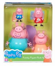 Peppa Pig Family Pack of Figures Brand New In Box For Ages 3 Years and Up