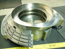 Syntron Stainless Steel parts feeder bowl 29""