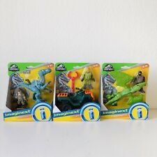 Imaginext Jurassic World Bundle ATV Vehicle Dinosaur Figure Hasbro Age 3+ NEW