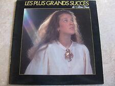 CÉLINE DION LES PLUS GRANDS SUCCÈS LP   ALBUM  1984