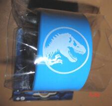 JURASSIC WORLD movie TOY blue SLAP BAND jurrasic park logo slapband