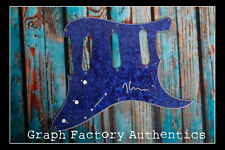 **GFA American Guitarist *KURT VILE* Signed Electric Pickguard K2 COA**