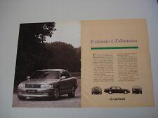 advertising Pubblicità 1993 LEXUS LS 400