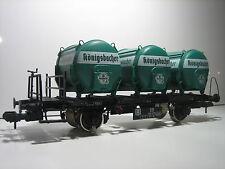 Märklin 58321 Spur 1 Königsbacher Behälterwagen Güterwaggon Neuzustand