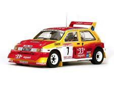 SUNSTAR 5532 MG Metro 6R4 diecast model rally car D Aurio B Occelli 1986 1:18th