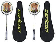 2 x Carlton Nanoblade Pro Badminton Rackets RRP £360