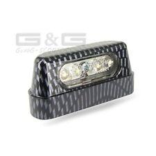 LED Number Plate Light Number Plate Light Carbon CE