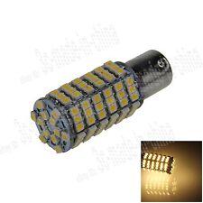 1X Warm White 1156 G18 Ba15s 120 3528 LED Turn Signal Rear Light Bulb Lamp D023