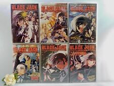 Black Jack Vol 1,2,3,4,5,6  NEW (English Audio) Out of Print