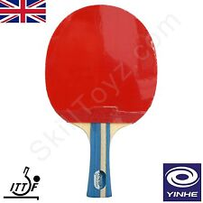 Yinhe (Milky Way) Table Tennis Bat and zip case ITTF approved rubbers model 05B