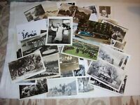 VINTAGE PHOTOS black /white and color. old interesting lot of  46