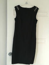 Events Ladies Dress and Matching Jacket - Size M - Black - NWOT