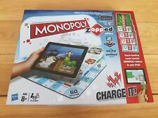 Monopoly Zapped by Hasbro (iPad, iPhone, iPod), Complete & Very Good Condition