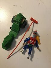 MOTU Vintage He-Man Mekaneck 1983 with Road Ripper *works!*
