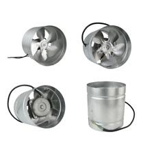 Rohrventilator 160/210/250/315mm Zuluft Rohrlüfter Lüfter Radial Kanallüfter aRw