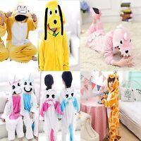 Kids Unisex Animal Sleepsuit Cosplay Costume Pajamas Outfit Onsies Nightclothes