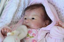 @@@@@ bébé baby  reborn fille plaque ventrale ombilicale limité