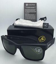 9e4d48afb4 Authentic VONZIPPER Sunglasses VZ ELMORE Matte Black Satin Frames w  Grey  Lenses