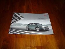 Audi A4 Allroad Quattro Prospekt 02/2009
