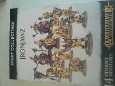 WARHAMMER AGE OF SIGMAR START COLLECTING IRONJAWZ - NEW & SEALED
