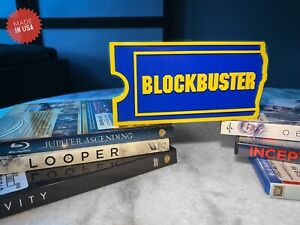 Blockbuster Video Logo Decoration Sign