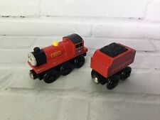 Thomas the Train & Friends Wooden Railway Engine Mike & Arlesdale Tender Mattel