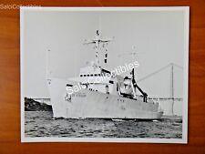 OFFICIAL US Navy Class Escort Carrier Ship Photo 8x10 AGOR-12 USS Desteiguer