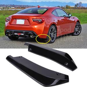 For Toyota 86 2012-2021 Car Rear Bumper Lip Diffuser Splitter Spoiler Protector