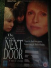 THE PEOPLE NEXT DOOR VIDEO VHS RARE ODYSSEY TRUE STORY DRAMA FAYE DUNAWAY