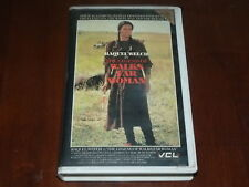 The Legend Of Walks Far Woman VHS 1980's Western VCL Home Video PAL