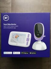 BT Smart Baby Monitor with 5 inch colour screen and smartphone app