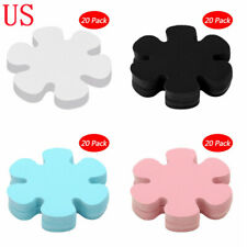 "20pcs 4"" Flower Anti-slip Decals Stickers Adhesive Bath Tub Mats Treads Applique"