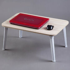 Portable Folding Laptop Table Dinner Table Mate Travelling Tray Desk On Bed