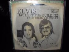 """ELVIS PRESLEY / SUMNER has left the building  ( rock ) 7""""/45 picture sleeve"""