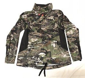 Under Armour Ridge Reaper Forrest Camo Pullover Women's Sz XL 1297415-943 $110