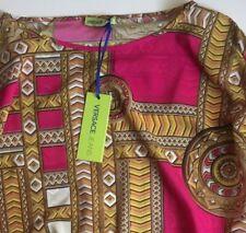 shirt silk /camicia barocco VERSACE  made in italy  tg 42  NUOVA!