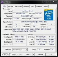 Intel Xeon E5-2683 v3 ES QEY7 2GHz 14C LGA2011-3 support C612 X99 i7-6850K